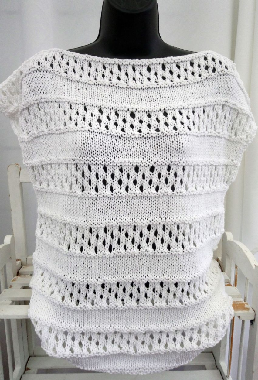 Cotton Summer Top Knitting Kit